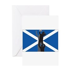 rugby scotland Greeting Card