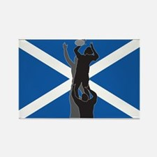 rugby scotland Rectangle Magnet