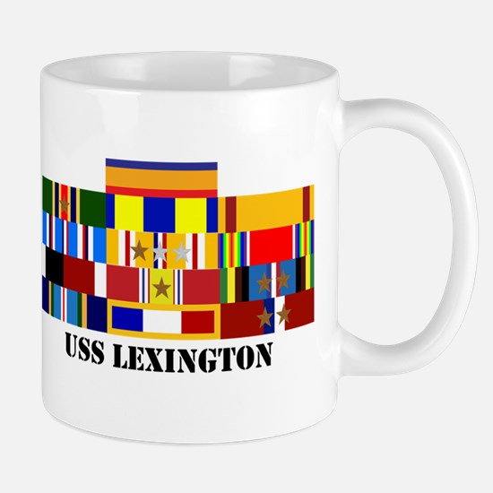 USS Lexington Mug