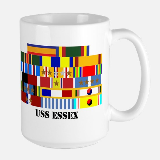 USS Essex Large Mug