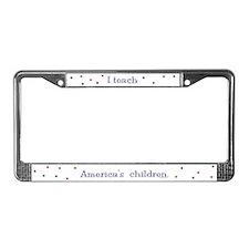 """""""America's Children"""" License Plate Frame"""