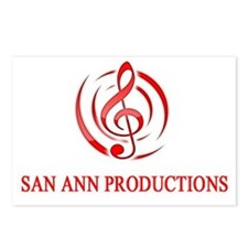 San Ann Productions Postcards (Package of 8)