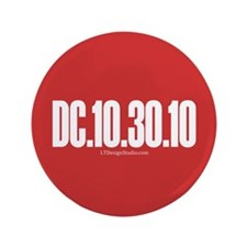 """DC-Red 3.5"""" Button"""