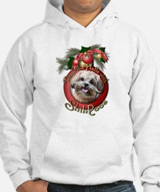Christmas - Deck the Halls - ShihPoos Hoodie Sweatshirt