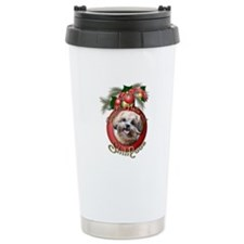 Christmas - Deck the Halls - ShihPoos Travel Mug