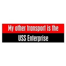 Cute Uss enterprise Bumper Sticker