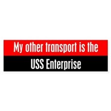 ussenterpriseBumperBumper Sticker copy Bumper Bumper Sticker