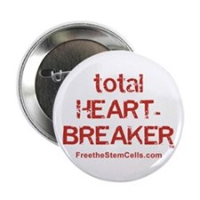 "TOTAL HEARTBREAKER 2.25"" Button (100 pack)"