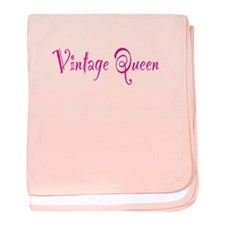 Vintage Queen Infant Blanket