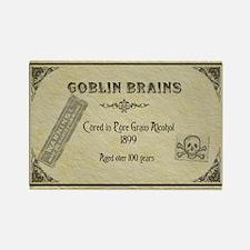 Goblin Brains Halloween Rectangle Magnet
