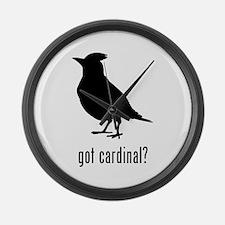 Cardinal Large Wall Clock