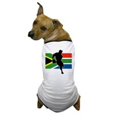 Rugby South Africa Dog T-Shirt