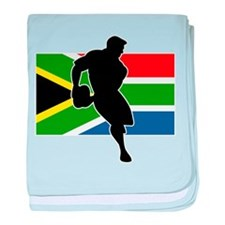Rugby South Africa Infant Blanket
