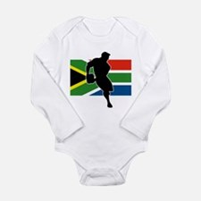 Rugby South Africa Long Sleeve Infant Bodysuit