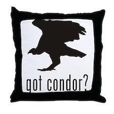 Condor Throw Pillow