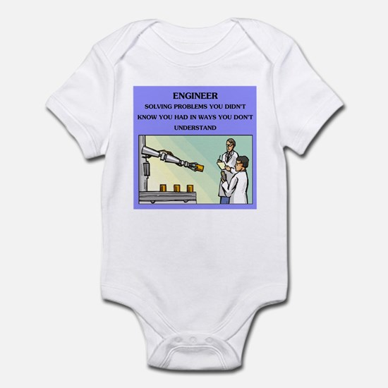 funny engineering joke Infant Bodysuit