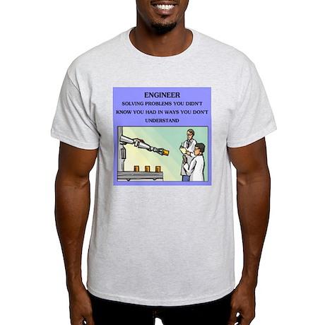 funny engineering joke Light T-Shirt