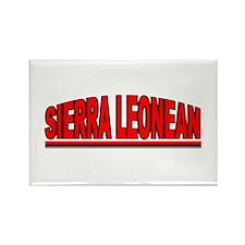 """Sierra Leonean"" Rectangle Magnet"