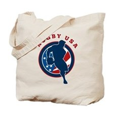 Rugby USA Tote Bag