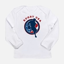 Rugby USA Long Sleeve Infant T-Shirt