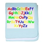 Alphabet in color Infant Blanket