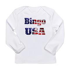 Bingo USA Long Sleeve Infant T-Shirt