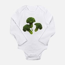 Broccoli Long Sleeve Infant Bodysuit