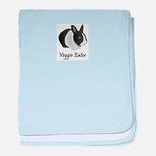 Veggie Eater Bunny Infant Blanket