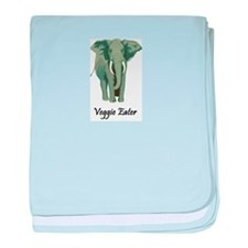 Veggie Eater Elephant Infant Blanket