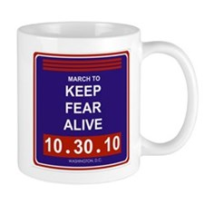 Funny Keep fear alive Mug