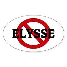 Anti-Elysse Oval Decal