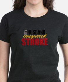 My Husband Conquered Stroke Tee
