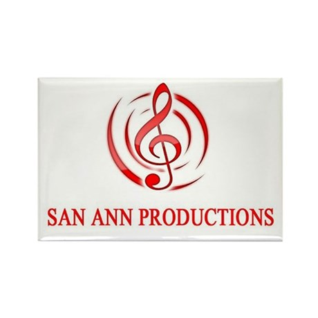 San Ann Productions Rectangle Magnet (100 pack)