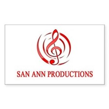 San Ann Productions Decal