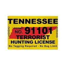 Tennessee Rectangle Magnet