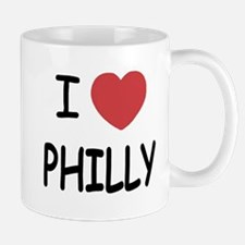 I heart Philly Mug