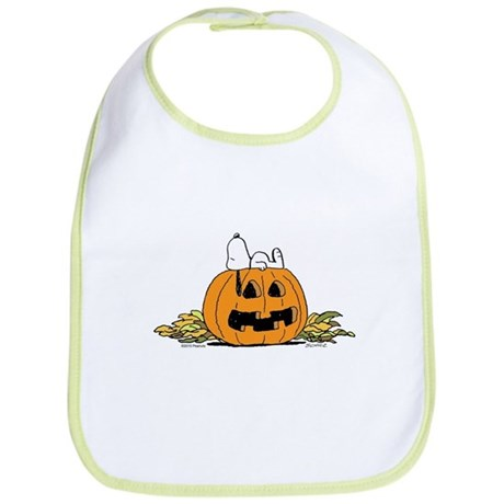 Pumpkin Patch Lounger Bib