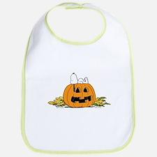 Pumpkin Patch Lounger Bib