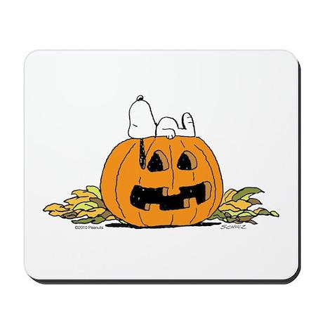 Pumpkin Patch Lounger Mousepad