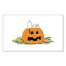 Pumpkin Patch Lounger Decal