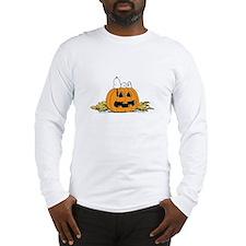 Pumpkin Patch Lounger Long Sleeve T-Shirt