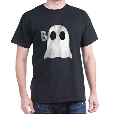 BOO GHOST BOO Dark T-Shirt