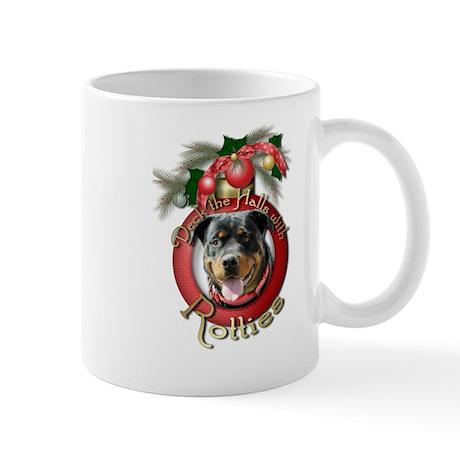 Christmas - Deck the Halls - Rotties Mug