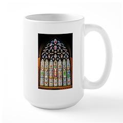 East Stained Glass Window Chr Mug