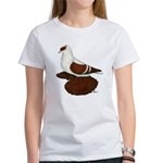 Red Fullhead Swallow Pigeon Women's T-Shirt