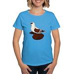 Red Fullhead Swallow Pigeon Women's Dark T-Shirt