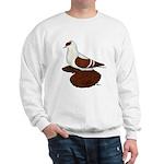 Red Fullhead Swallow Pigeon Sweatshirt