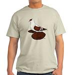 Red Fullhead Swallow Pigeon Light T-Shirt