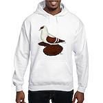 Red Fullhead Swallow Pigeon Hooded Sweatshirt