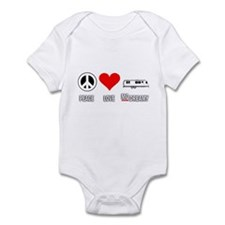 Peace Love McDreamy Infant Bodysuit